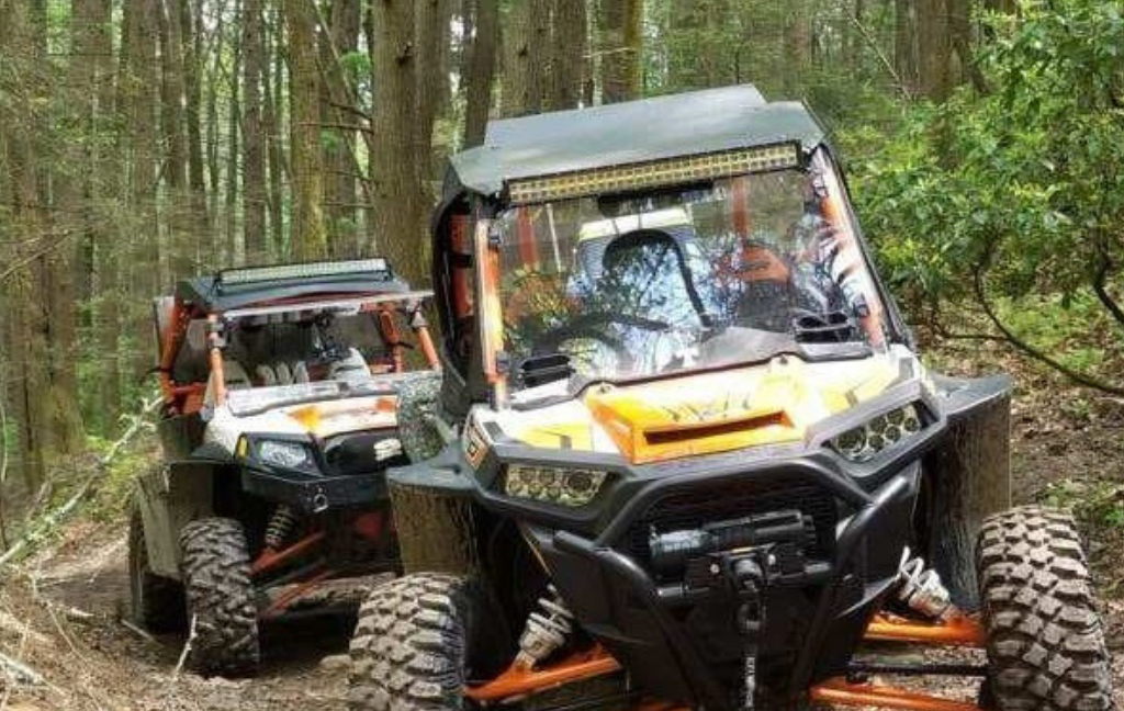 Off road enthusiasts ATV
