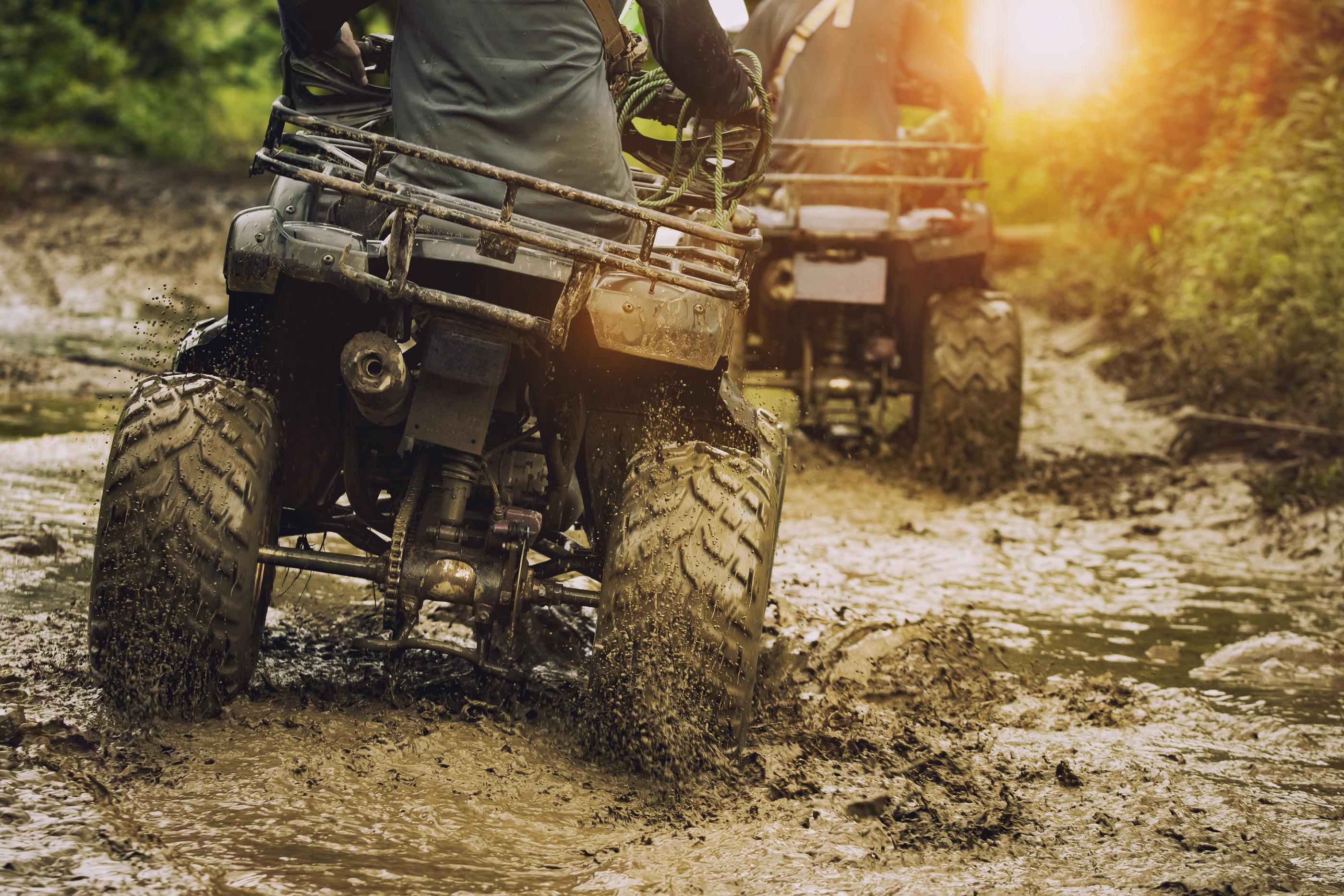 ATV riding trip