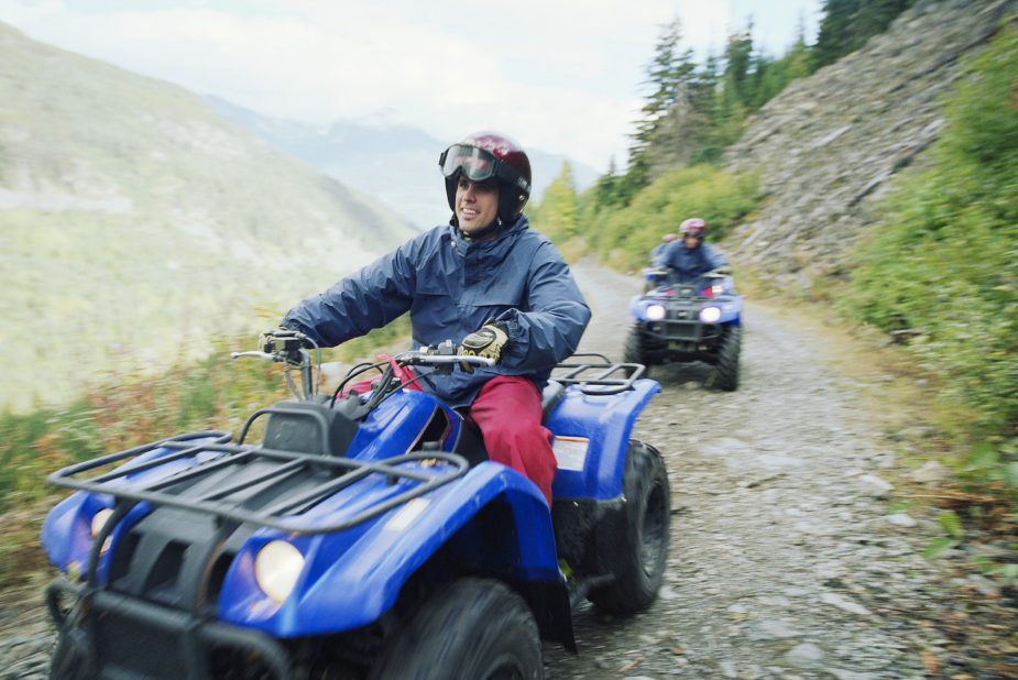 ATV riding Motorsports Awareness Month